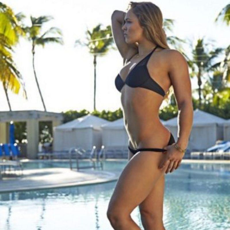 Pues demostró que no sólo es una deportista de alto nivel y dominadora en su rama. Foto:Vía instagram.com/RondaRousey