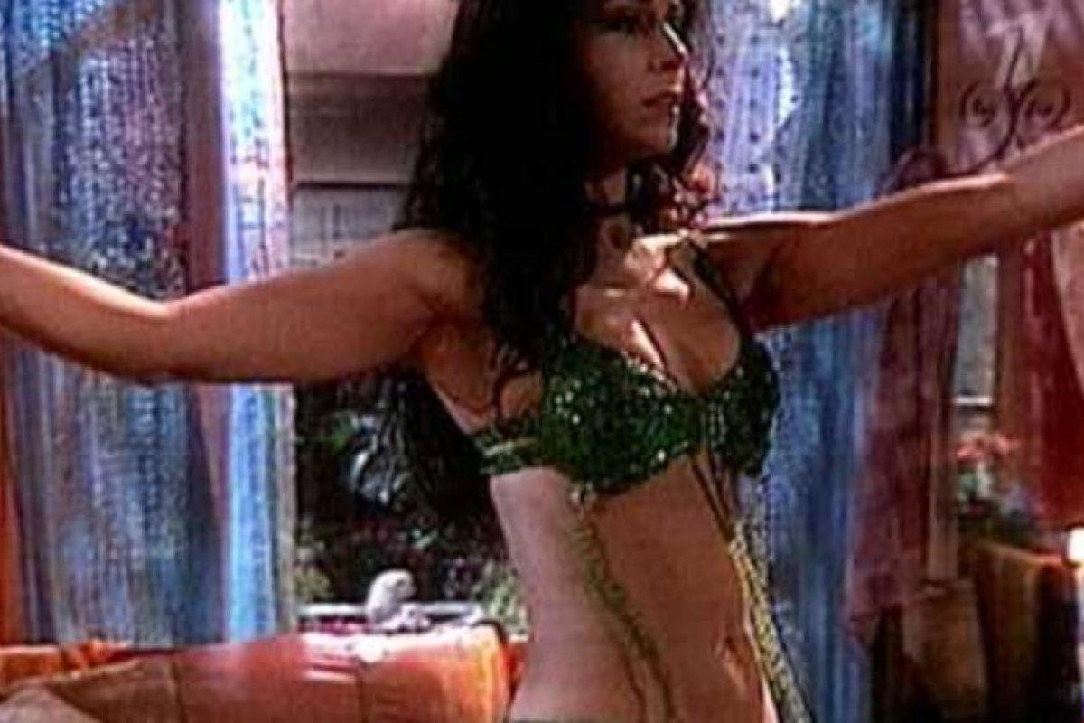 Que también sabía bailar Danza Oriental.