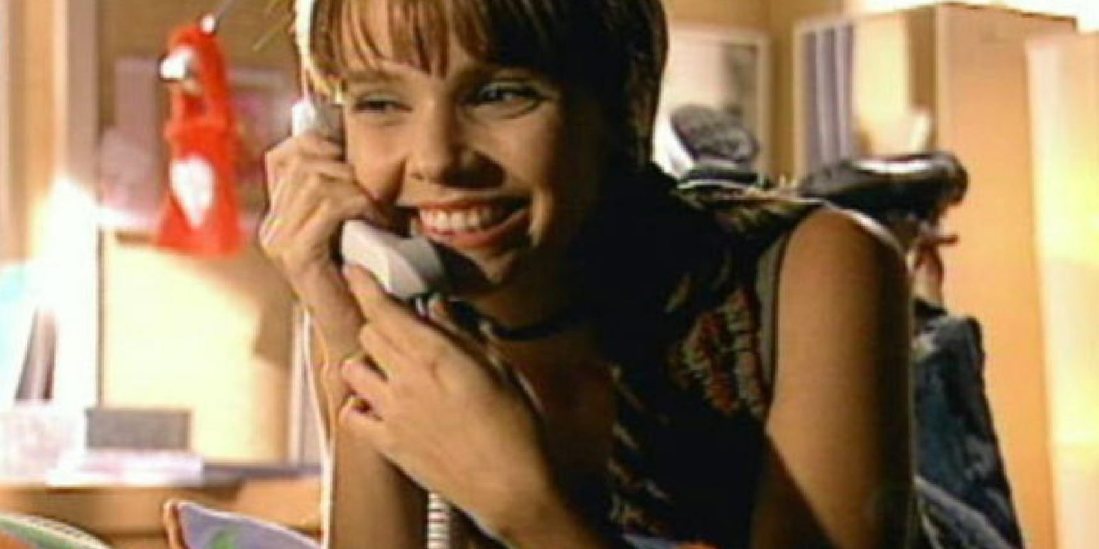 """Ella era """"Mel"""", una problemática adolescente."""