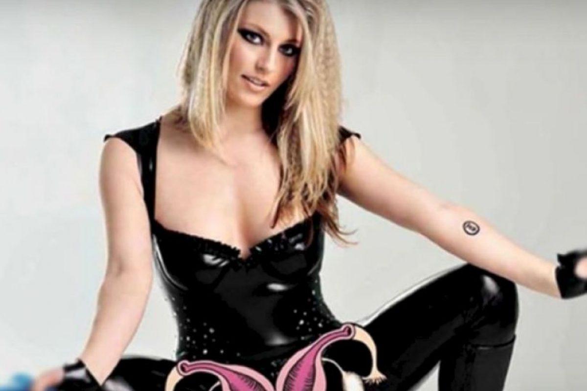 Hazel Jones. Confesó en Youtube que tenía dos vaginas. Foto:vía Youtube