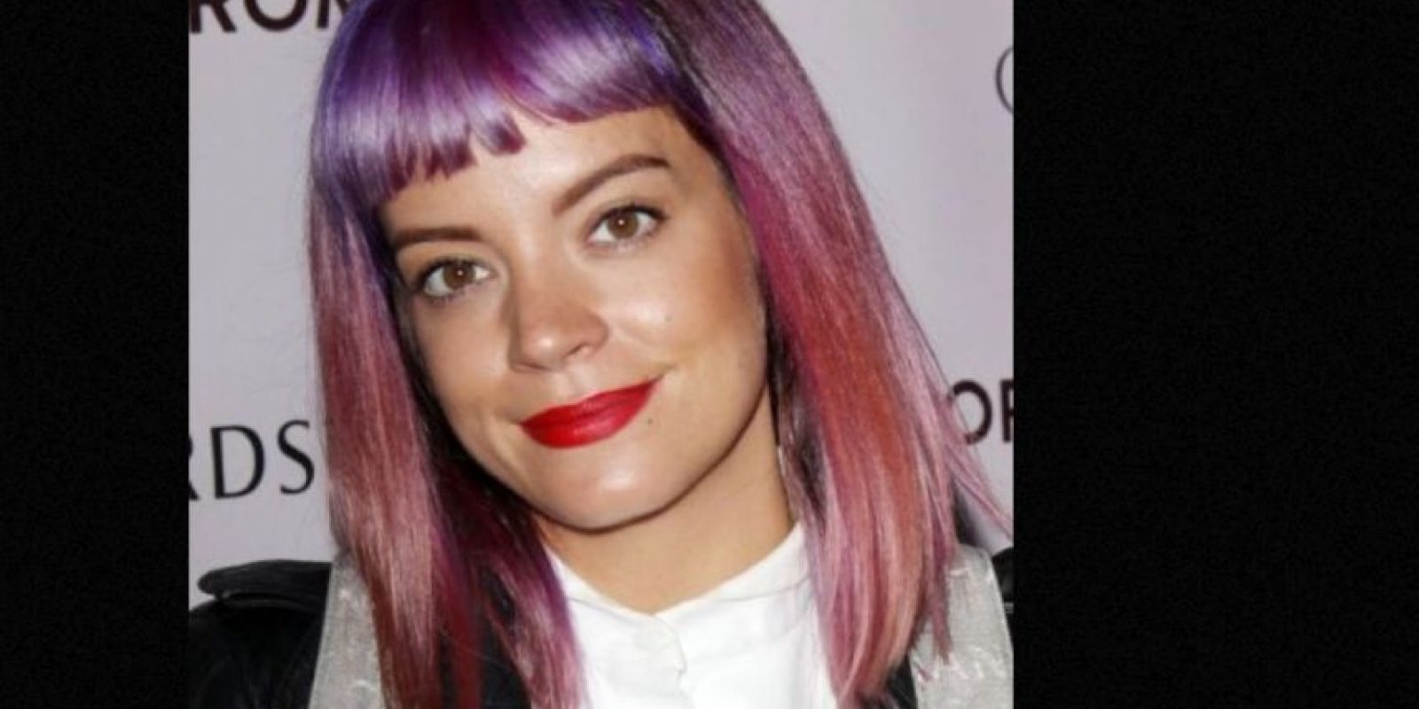 Lily Allen. Foto: vía Getty Images