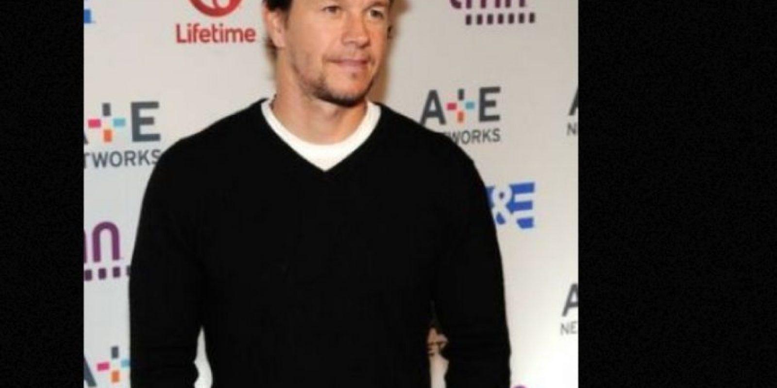 Al igual que Lily Allen, Mark Wahlberg nació con un tercer pezón. Foto:vía Getty Images