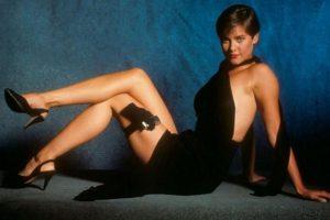 Carey Lowell, modelo y actriz, fue la chica Bond de la última película de Timothy Dalton como el agente 007. Interpretó a Pam Bouvier Foto:Vía imdb.com
