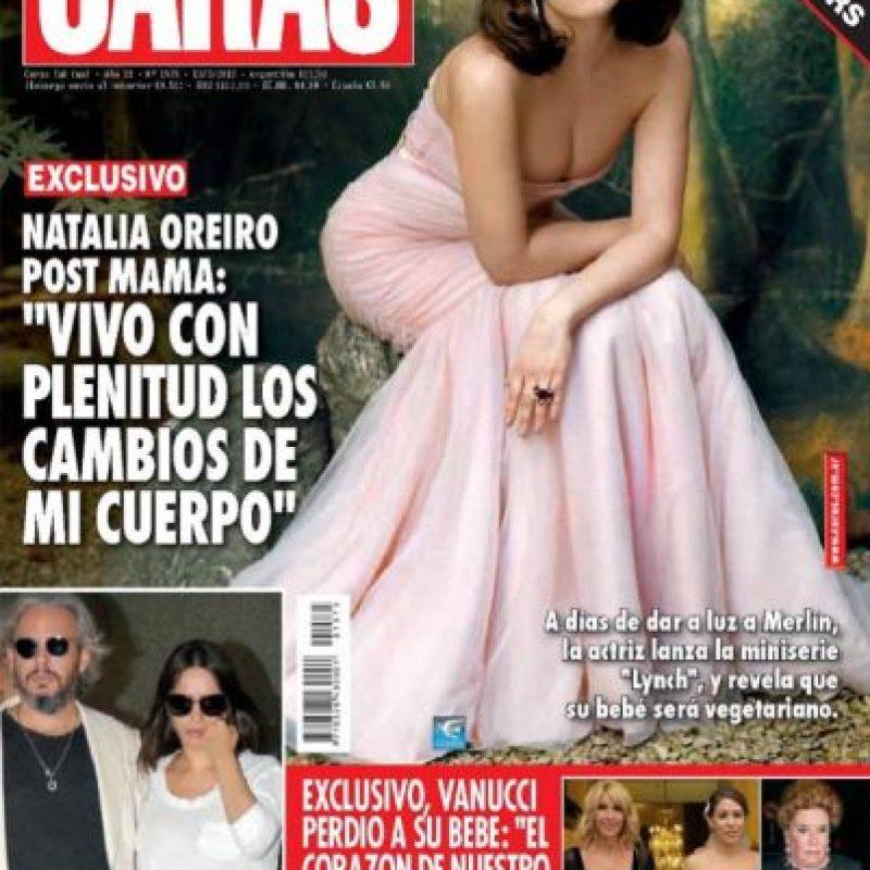 """También estuvo en """"Solamente Vos"""" y """"Wakolda"""". Foto:vía Twitter/Natalia Oreiro"""