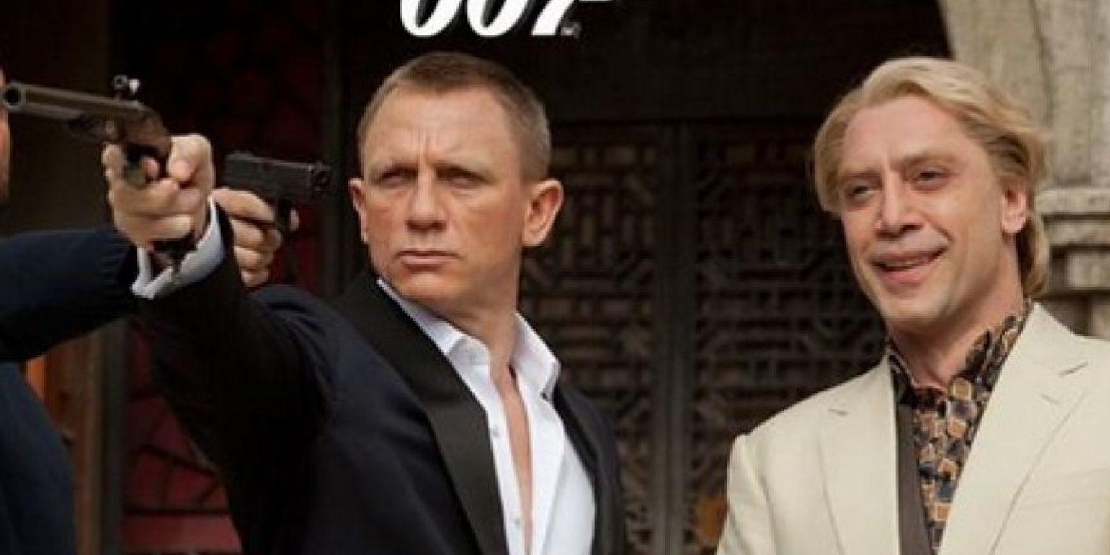 El filme cuenta con la participación de Daniel Caig, quien vuelve a interpretar al famoso agente secreto. Foto:Twitter/007