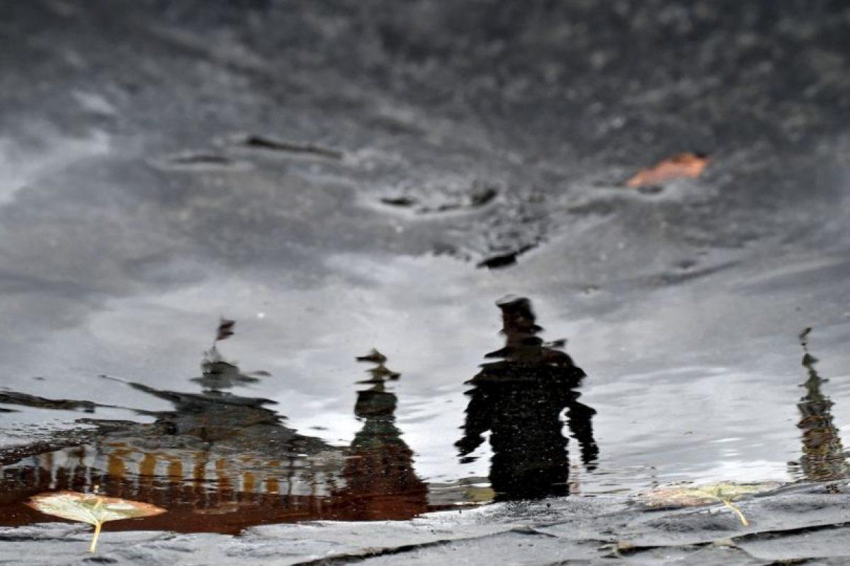 Lluvias en Rusia. Foto:AFP
