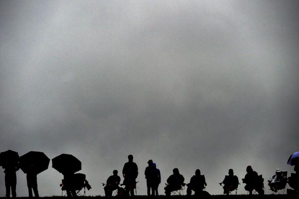 Espectadores del Gran Premio en Austin, Texas. Foto:AFP
