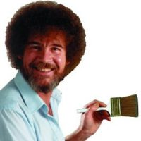 Ross pintó más de 30 mi cuadros a lo largo de su vida. Foto:vía twitter.com/bobross