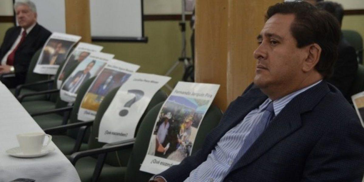 PNC pide apoyo a la Interpol para capturar a Gustavo Alejos