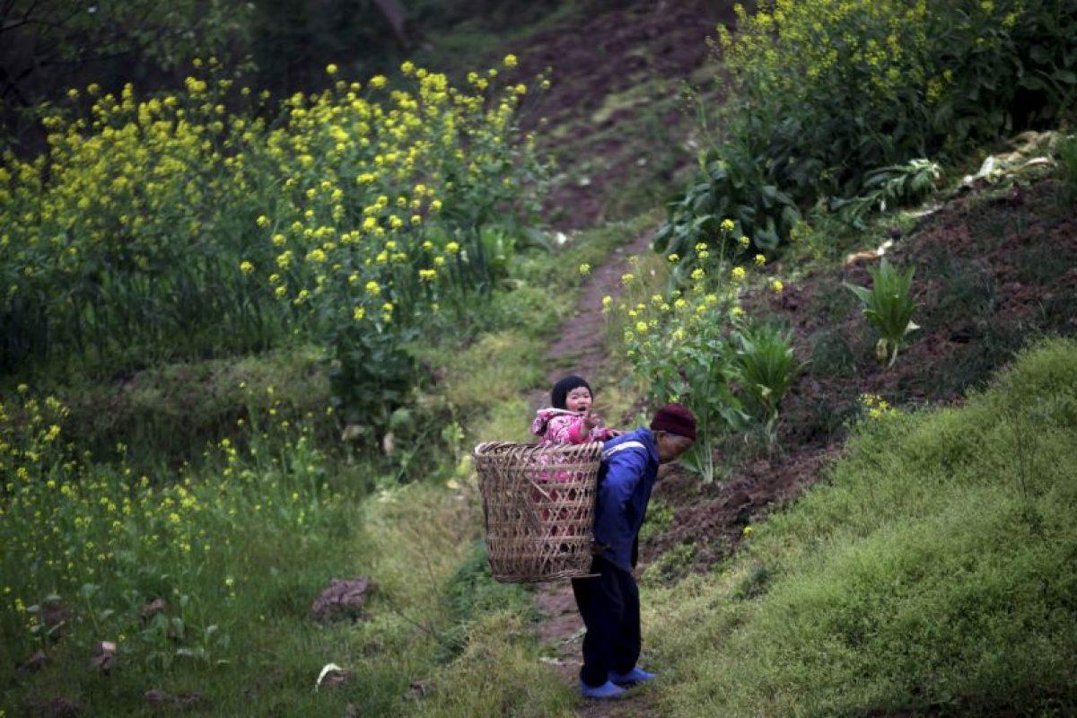Un 10.1% de la población de China ya es anciana. Foto:AP