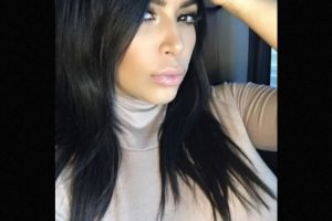 En realidad es Kim Kardashian Foto:Instagram/KimKardashian