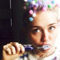 Miley Cyrus: La cantante también llevó sus excentricidades a esta app. Foto:Vía instagram.com/mileycyrus