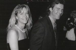Durante 10 años, Meg Ryan y Dennis Quaid vivieron como marido y mujer. Foto:Getty Images