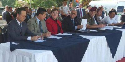 Presidente inaugura trabajos de construcción para afectados de El Cambray