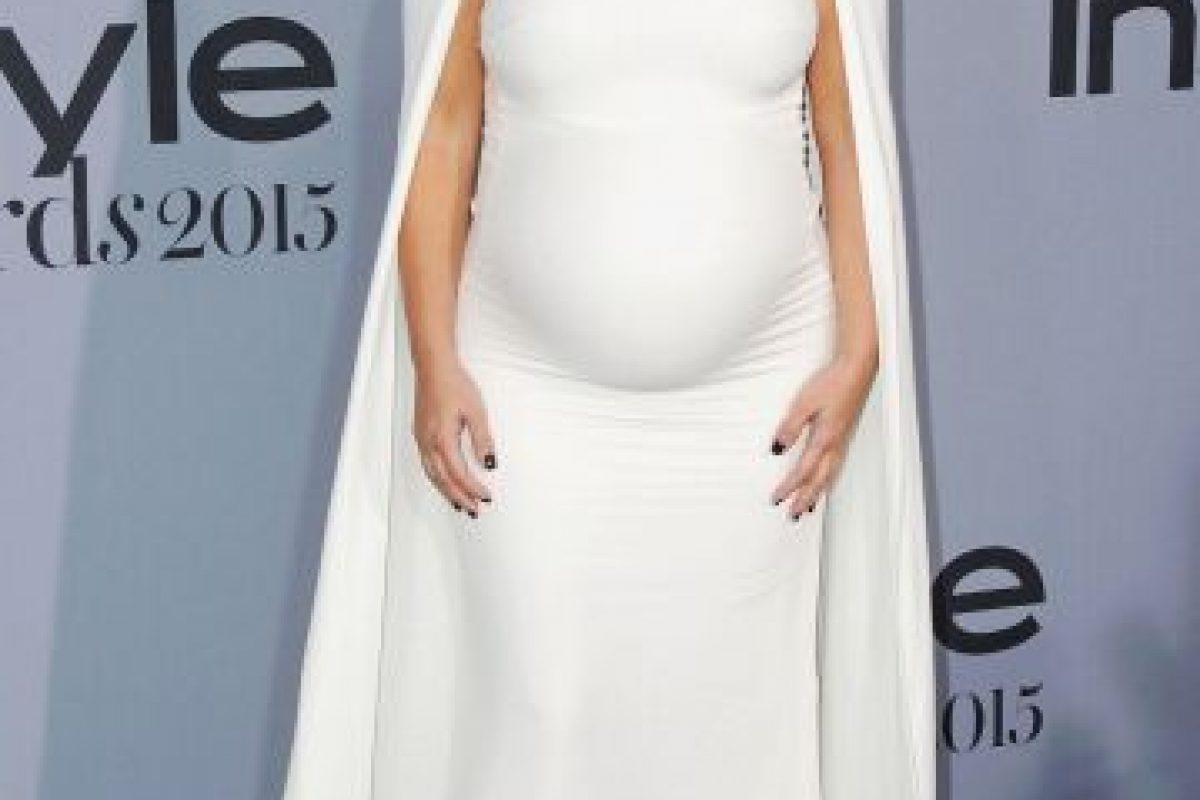 Kim Kardashian impactó con un vestido que otras famosas se han puesto ya. Foto:vía Getty Images