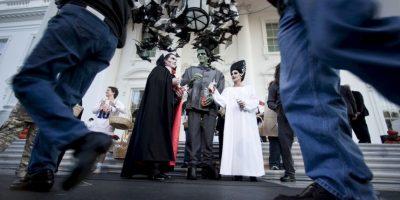 También existen personas disfrazadas Foto:Getty Images