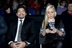 De esta relación nació su hijo Diego Fernando, en 2013 Foto:Getty Images