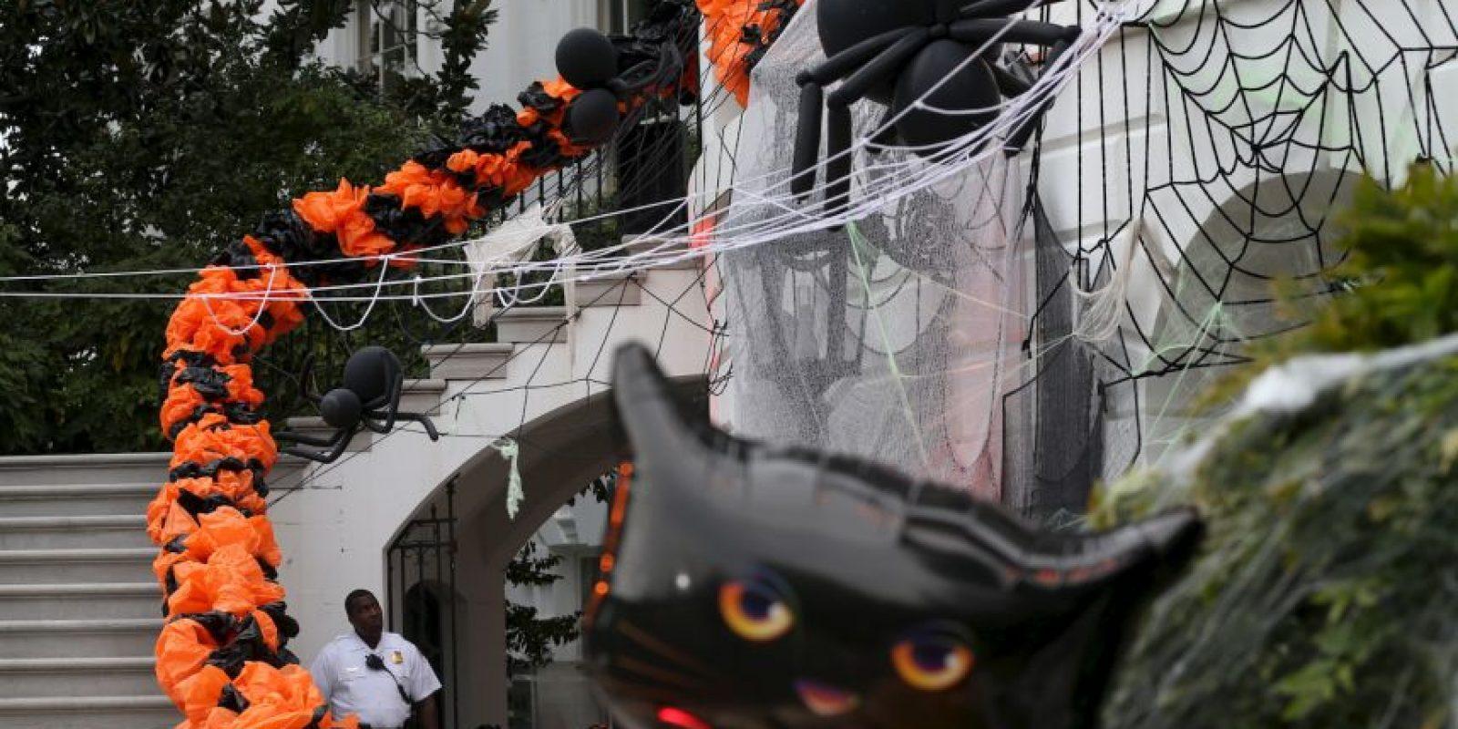 Y se adorna toda la Casa Blanca Foto:Getty Images