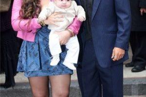 "Gianinna Maradona. La otra descendiente del ""10"", quien procreó un hijo con Sergio Agüero Foto:Twitter"