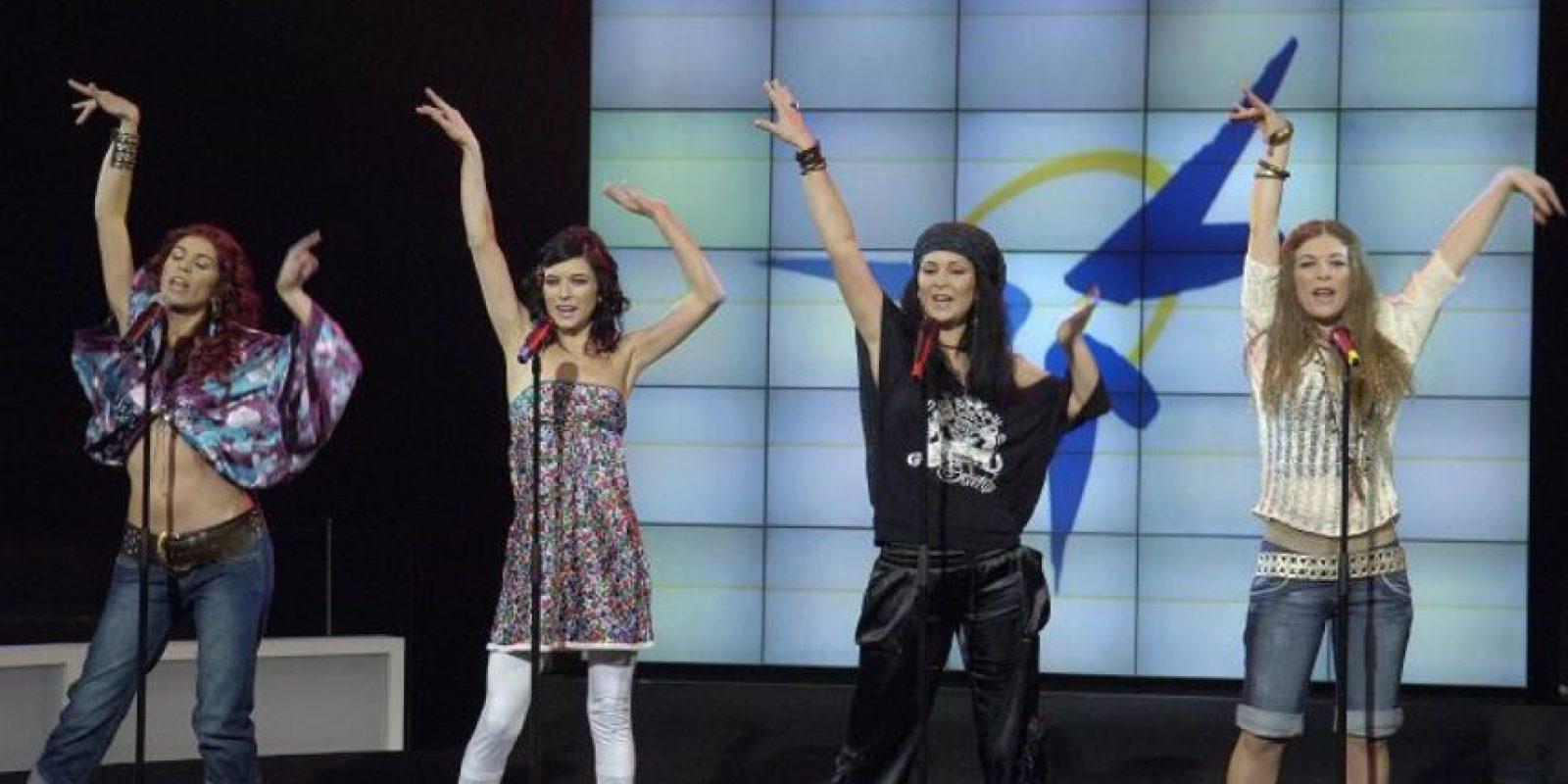 """Las hermanas Muñoz, hijas del guitarrista flamenco """"El Tomate"""" llegaron así a la fama. Foto:vía Facebook/Las Ketchup Oficial"""