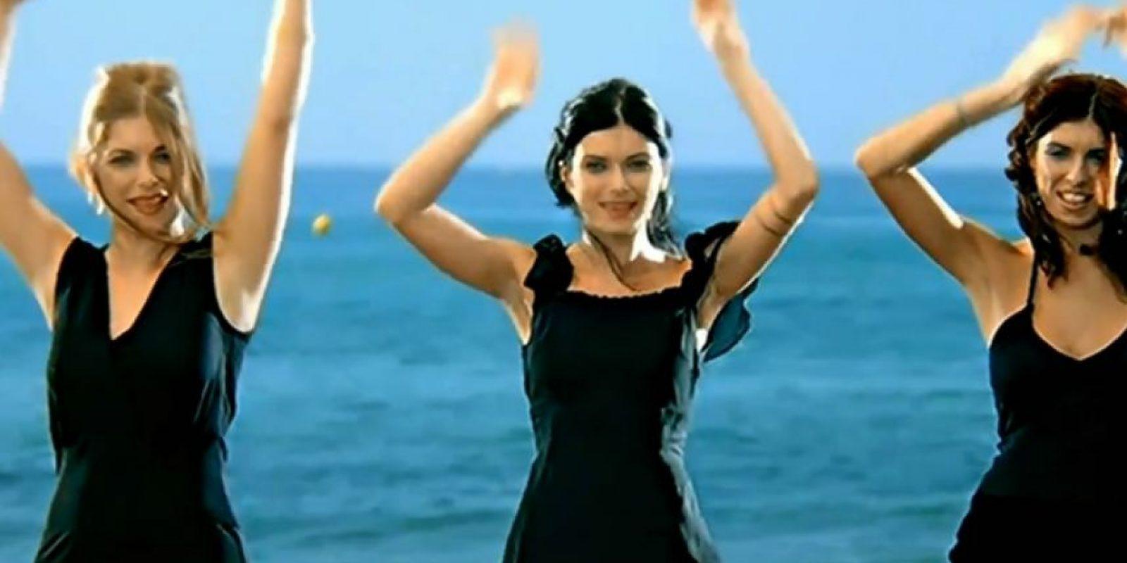 """En 2002 el pegadizo ritmo de """"Aserejé"""" invadía el mundo. Foto:vía Youtube/Las Ketchup"""