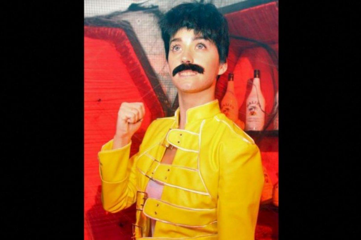 Freddy Mercury homenajeado por Katy Perry Foto:Getty Images