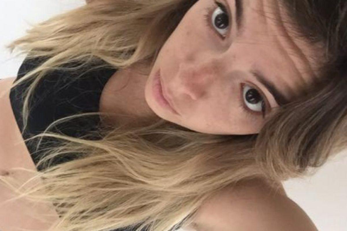 """Una de las hijas del """"Pelusa"""" Foto:Vía twitter.com/dalmaradona"""