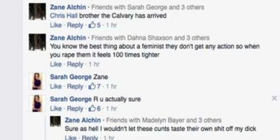 Para tratar de avergonzarla por ser clara ante su sexualidad. Foto:vía Facebook