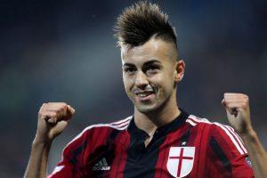 """9. Stephan El Shaawary / El delantero italiano siempre ha llevado su cabello al estilo """"mohicano"""". Foto:Getty Images"""