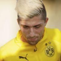 """10. Kevin Kampl / Con ese cabello rubio en puntas, el esloveno del Borussia Dortmund se parece a otro """"súper saiyayin"""". Foto:Getty Images"""