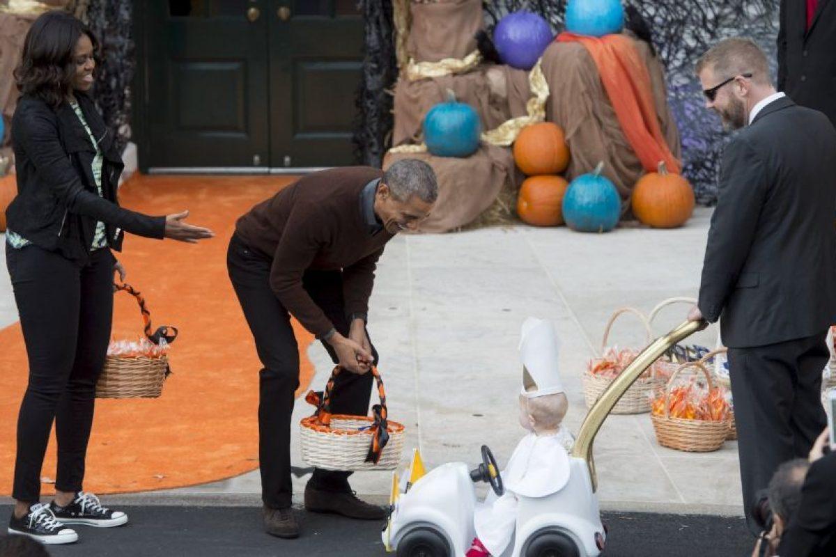 El Papa Francisco visitó la Casa Blanca a finales de septiembre pasado Foto:AFP