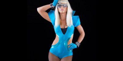 Michelle McCool como Lady Gaga. Foto:WWE