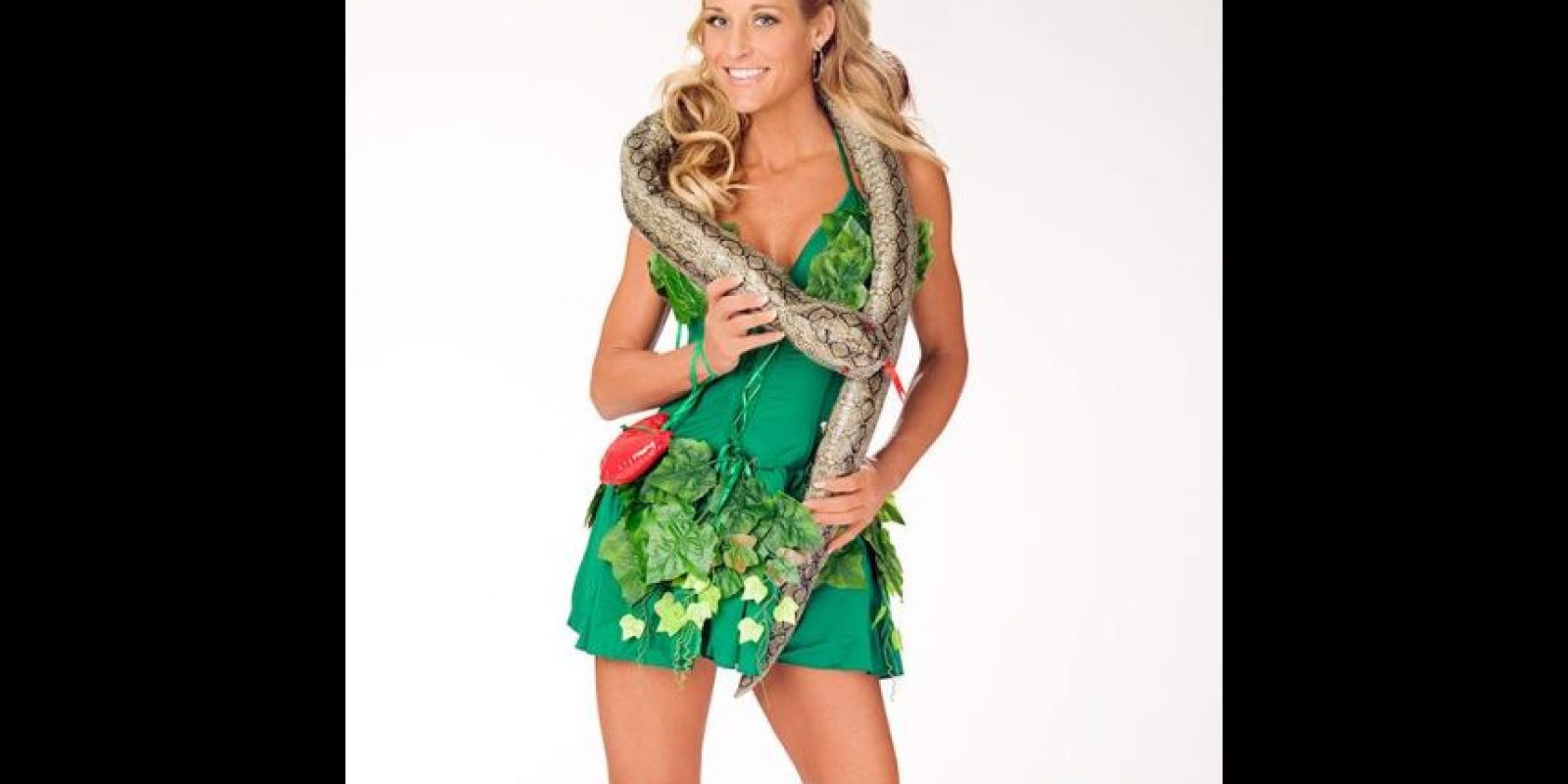"""Michelle McCool como """"Eva"""". Foto:WWE"""