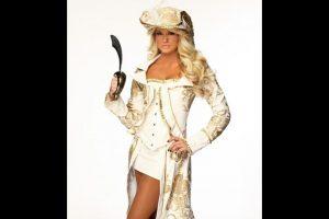 Kelly Kelly como pirata. Foto:WWE