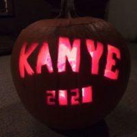 Kanye West (en apoyo de su campaña presidencial) Foto:vía twitter.com