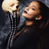 """La cantante se convirtió en el protagonista de """"El Extraño mundo de Jack"""". Foto:vía instagram.com/arianagrande"""