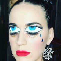 La cantante sorprendió con este impresionante maquillaje Foto:vía instagram.com/katyperry