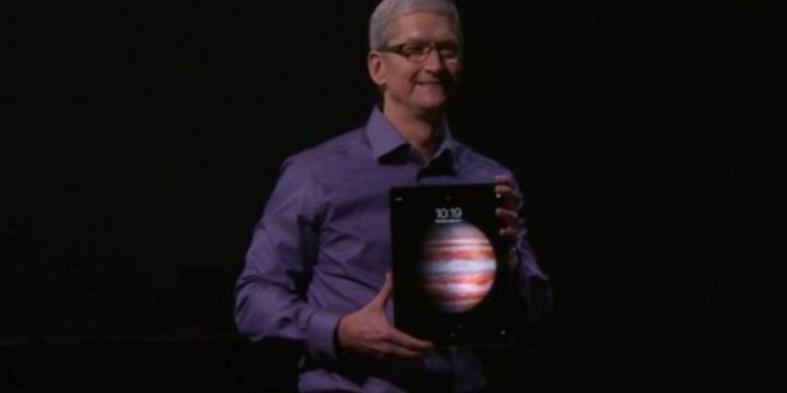 Procesador: A9X de 64 bits. Foto:Apple