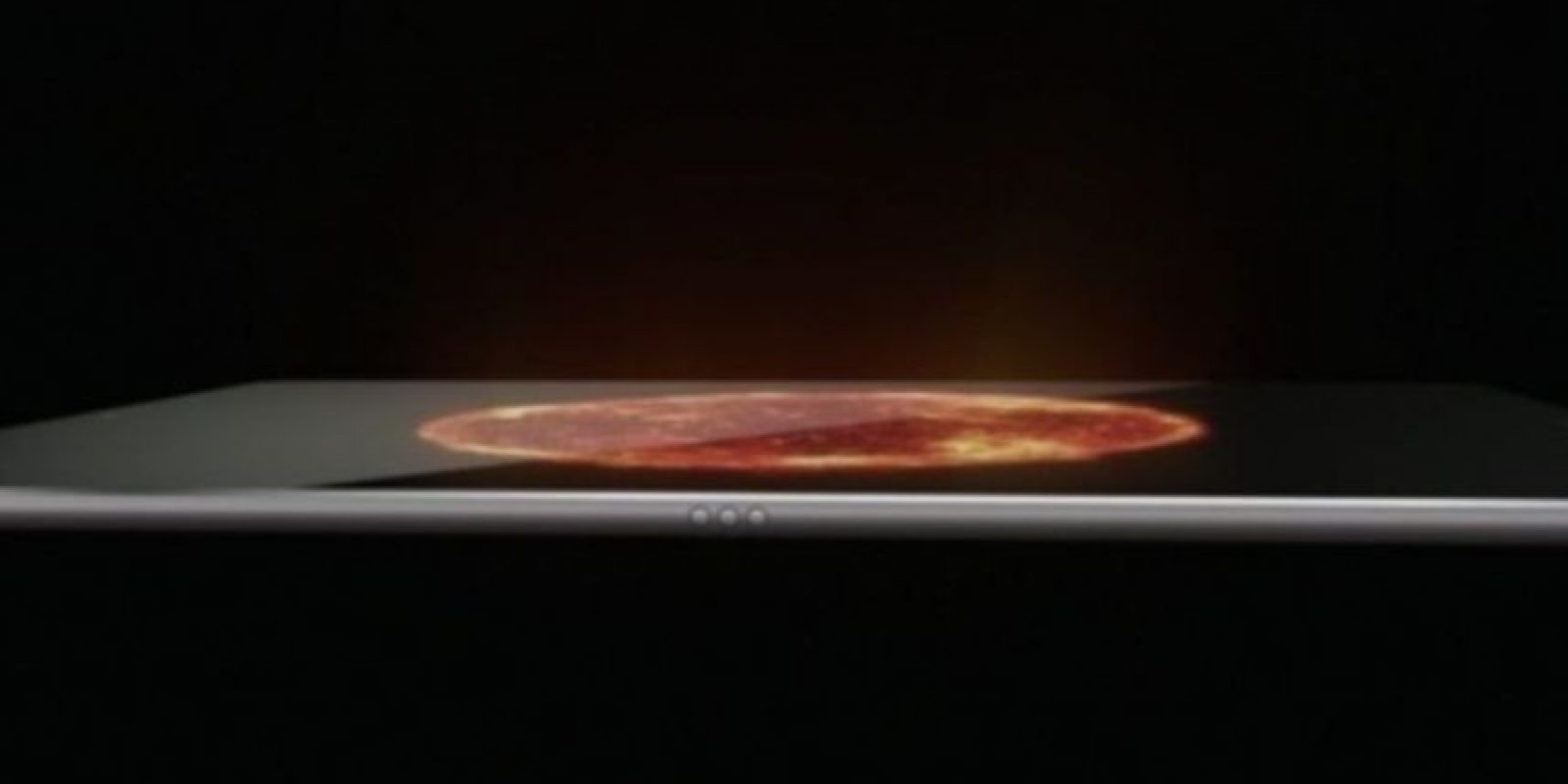Peso modelo Wi-Fi: 713 gramos (1.57 libras). Foto:Apple