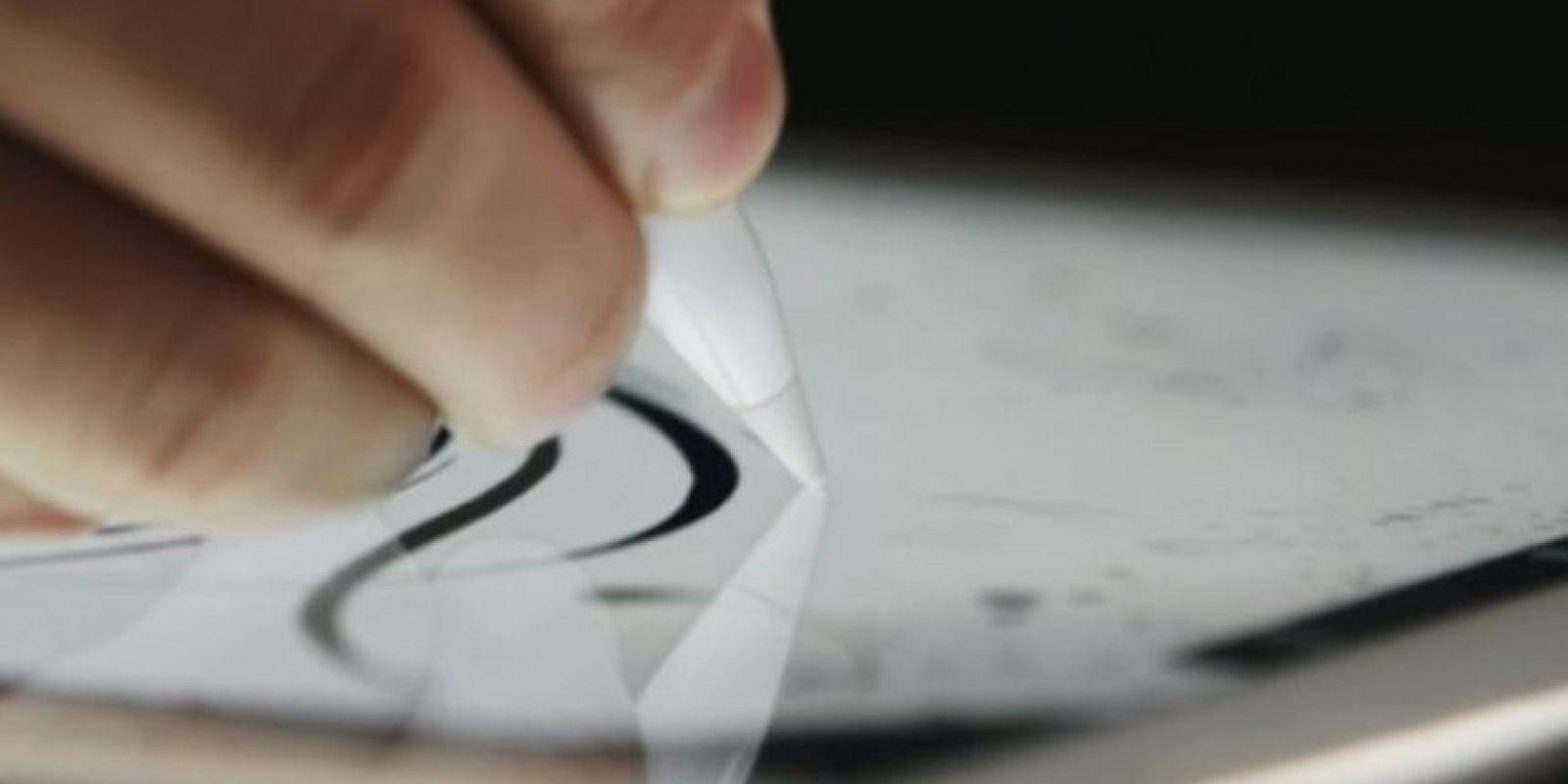 Este es el Apple Pencil. Foto:Apple