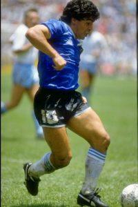 7. No proclamar a Diego en nombre de un único club. Foto:Getty Images
