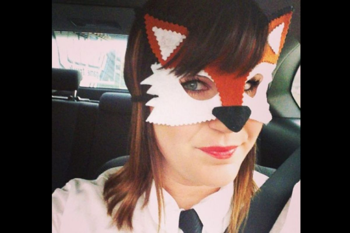 """""""Fox lady"""" Foto:Vía Instagram @dreamsofwhimsey"""