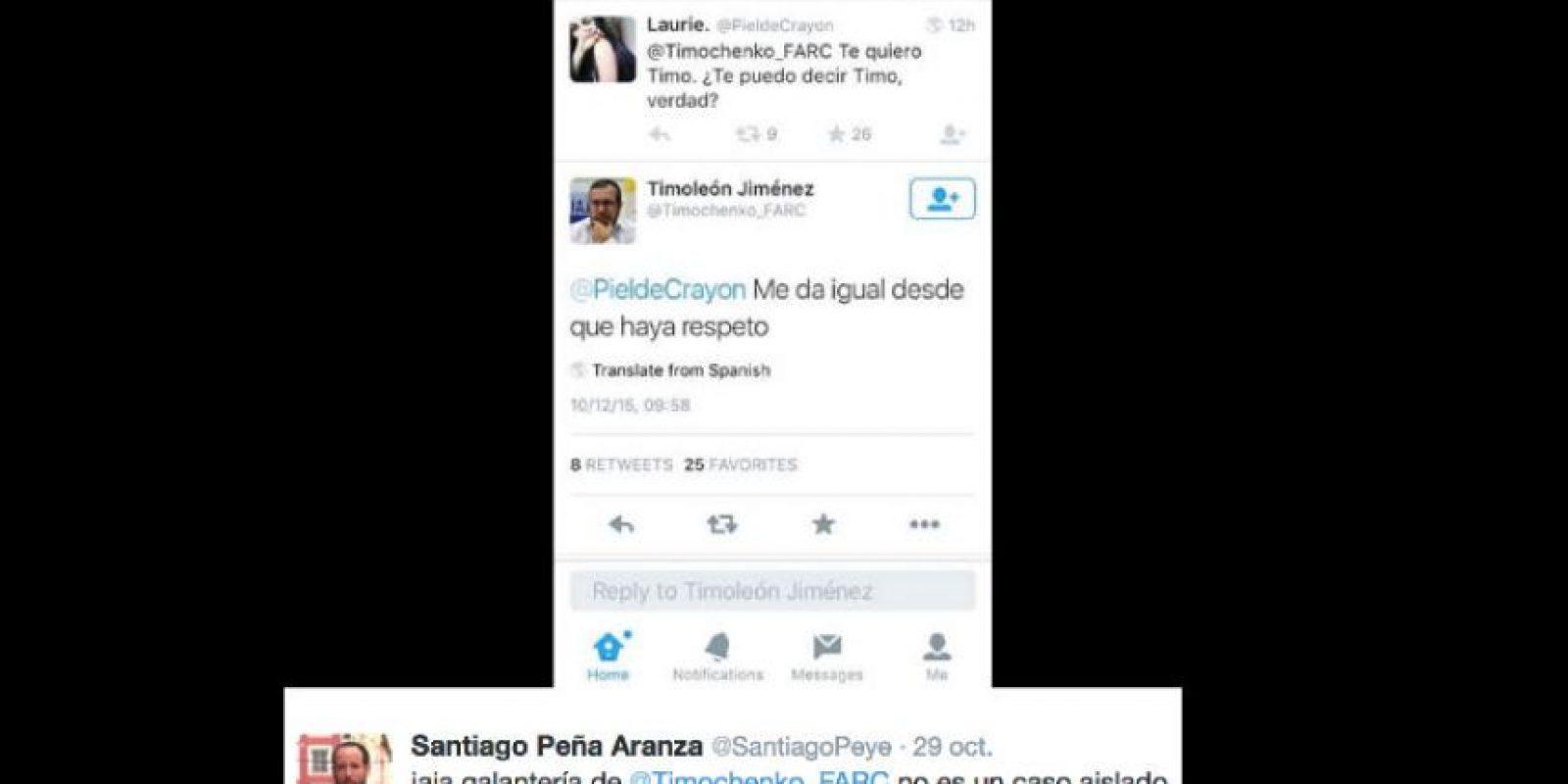 Otros tuiteros recordaron el historial amigable de uno de los grupos terroristas más peligrosos de Colombia. Foto:vía Twitter