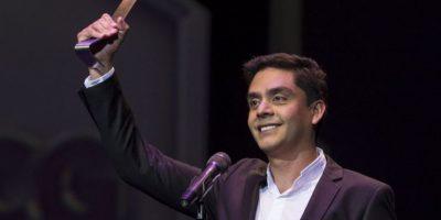 Así agradeció Jayro Bustamante el premio 24 y 25 para #Ixcanul