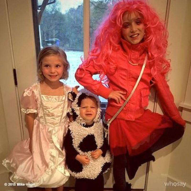 Y aquí sus hijas Foto:Instagram.com