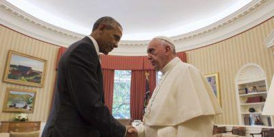 Donde sostuvo un encuentro privado con el presidente Barack Obama Foto:AP