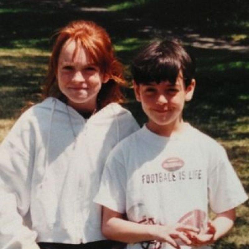 """Michael apareció en la película """"Juego de Gemelas"""", como el niño que llegó por accidente al campamento. Foto:vía instagram.com/mikelohan"""