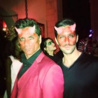 """El protagonista de """"Full House"""" mostró su lado más diabólico con Josh Peck Foto:vía instagram.com/johnstamos"""