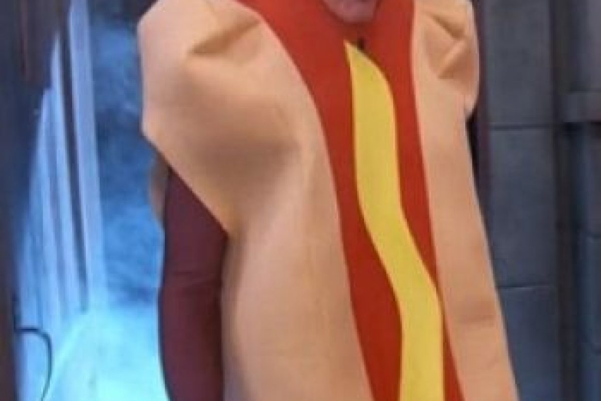 "La estrella de ""Star Wars"" e ""Indiana Jones"" apareció como un hot dog. Foto: ABC"