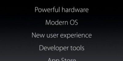 Novedades del sistema. Foto:Apple